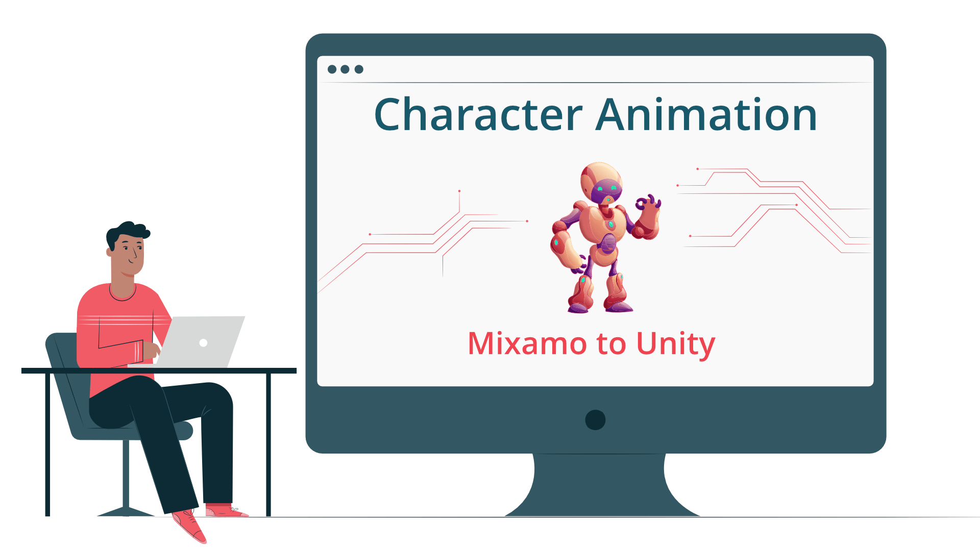 Character animation Mixamo