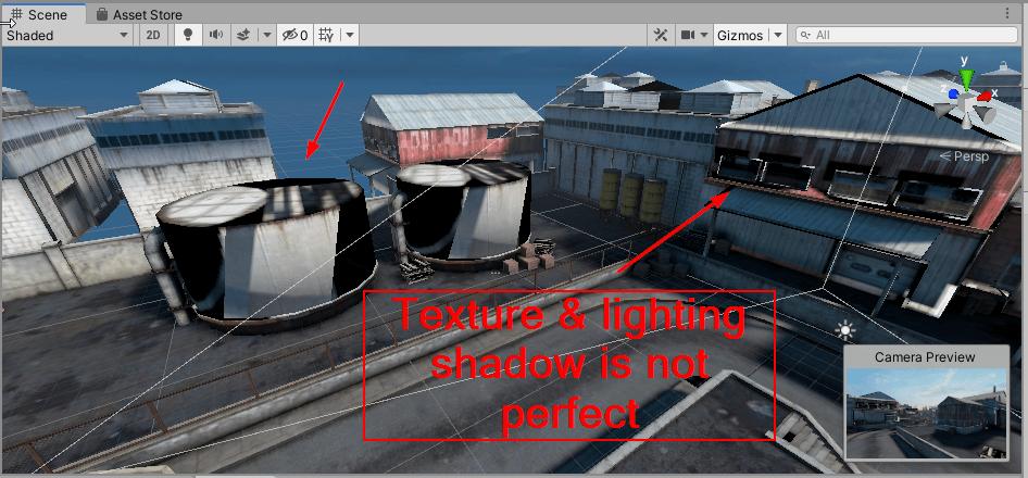Texture problem demo