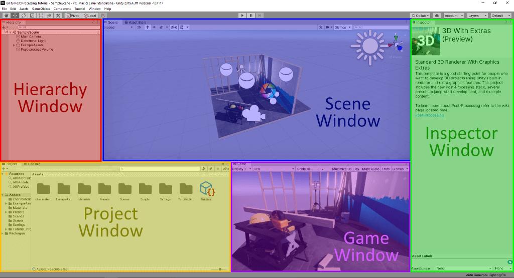 Unity Game Engine - IDE