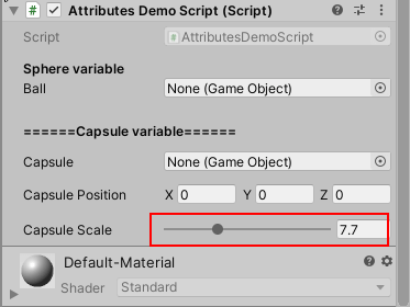 Range Attribute Demo