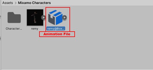 Import Animation in Unity
