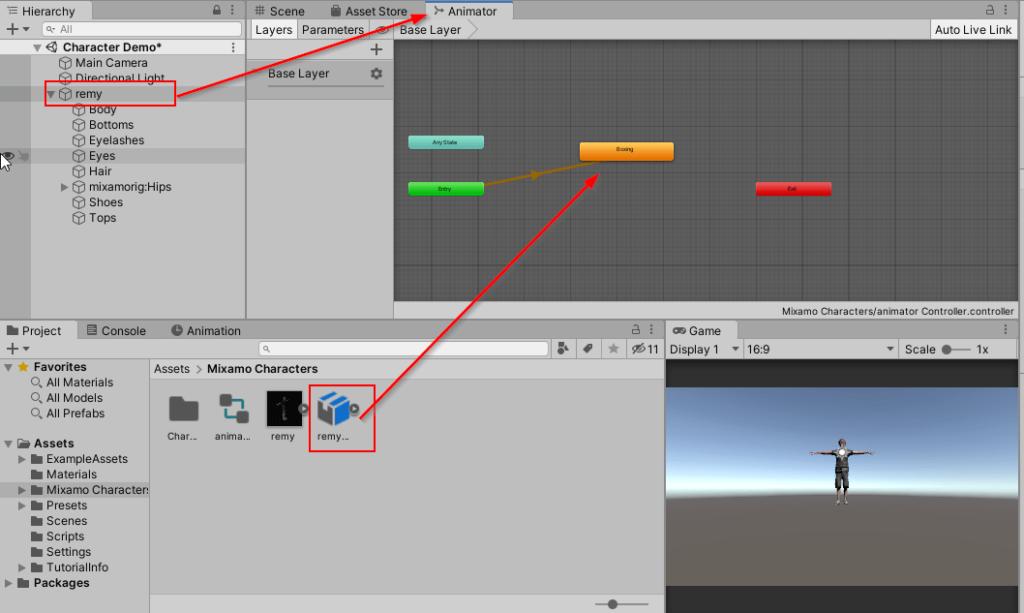 Animator window - Add Animation File