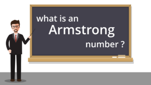 Armstrong Number Title